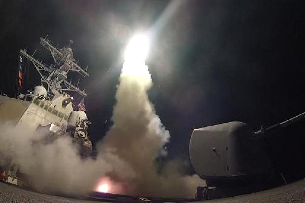 Trump launches attack on Syria with 59 Tomahawk missiles