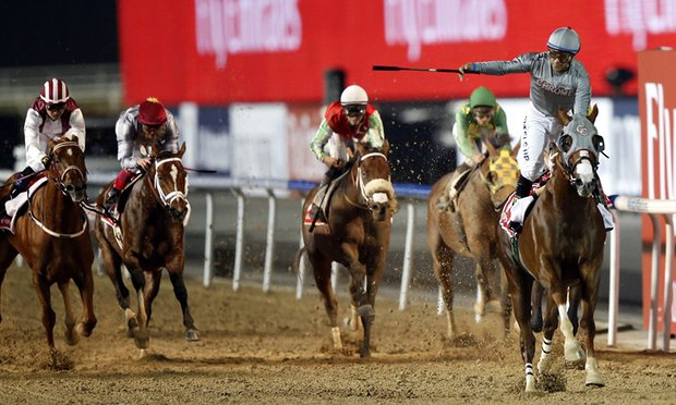 California Chrome storms to stunning win in Meydan's Dubai World Cup