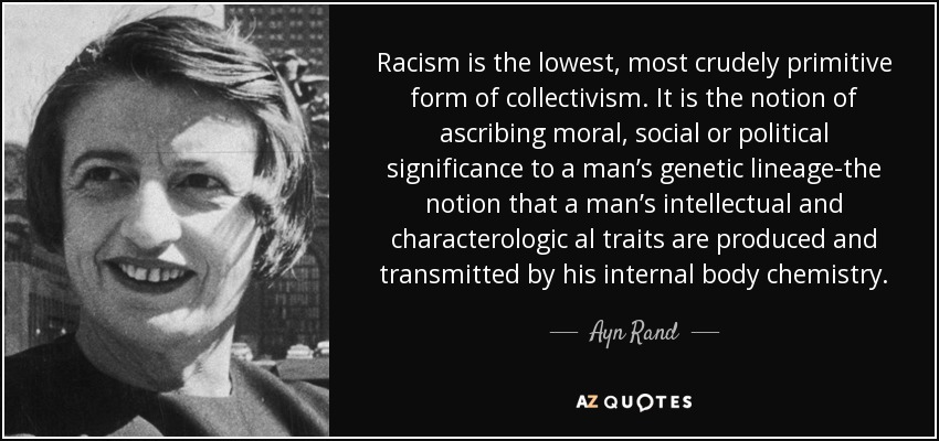 The Statement of Racism - The Answer Against Authoritarian Collectivists