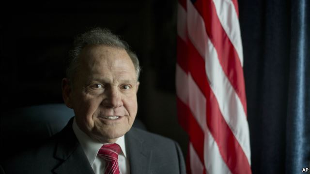 Alabama Chief Justice Suspended Over Gay Marriage Stance