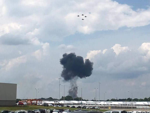 Blue Angels pilot killed in Tennessee crash