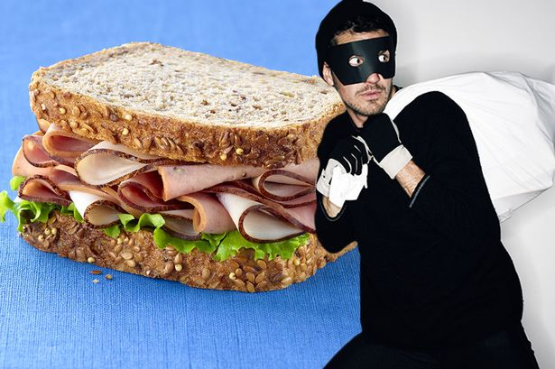 Sandwich Thief You So Funny