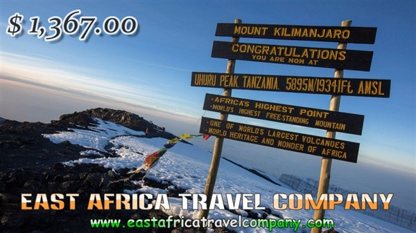 Mount Kilimanjaro Climbing/ 5 Days Marangu Route with our Professional Guides