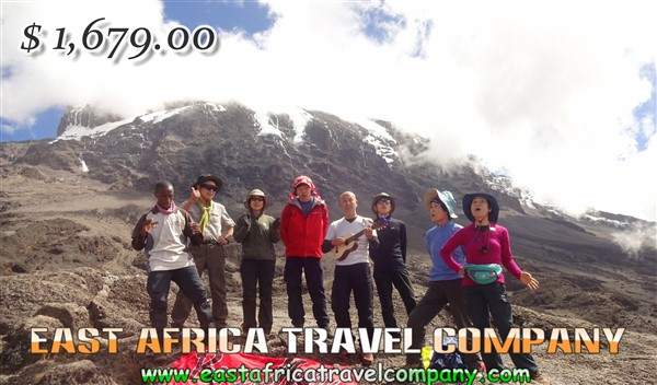 Mount Kilimanjaro Climbing/ 6 Days Umbwe Route with our Professional Guides