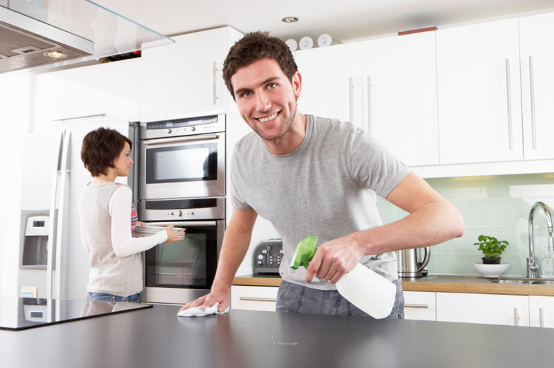 How to Make Your Kitchen Look Clean When You're Too Lazy to Actually Clean It