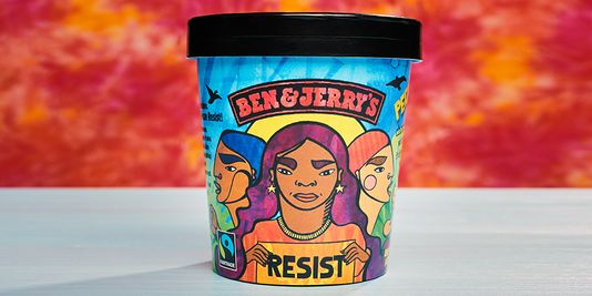 Ben & Jerry's Newest Flavor: Resist! Get Woke Go Broke!