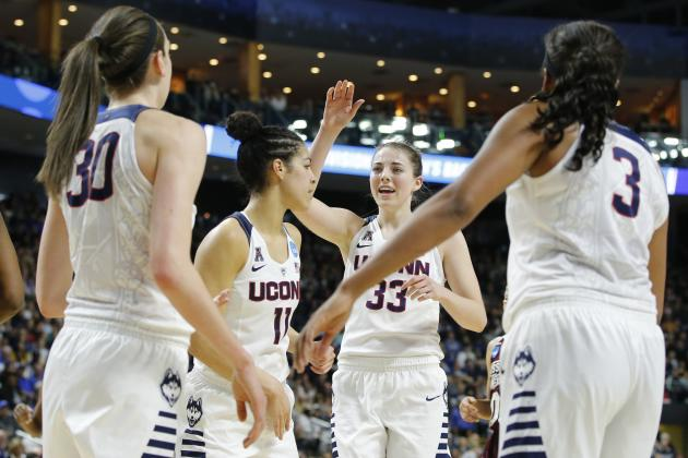UConn Sets Women's Tournament Record with 60-Point Win over Mississippi State