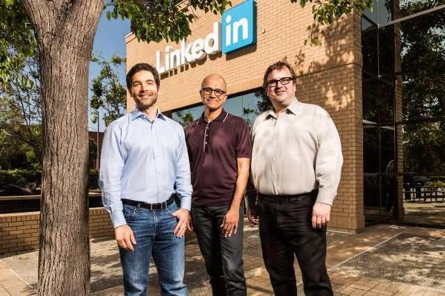 Microsoft will acquire LinkedIn for £18.5B