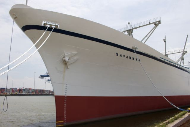 Aboard the NS Savannah, America's first (and last) nuclear merchant ship