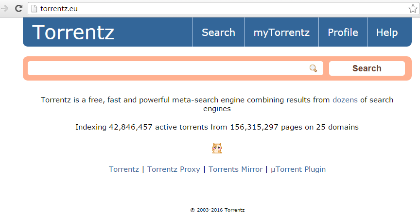 Meta-search engine Torrentz.eu quitely shuts down